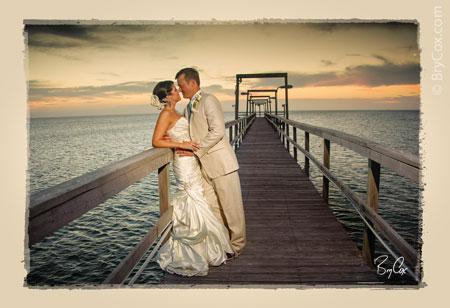 Wedding on the beach corpus christi